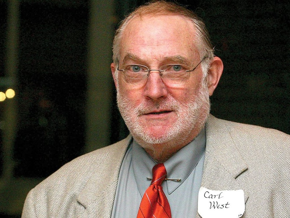 Carl West, the award's namesake.